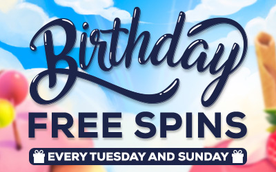 Birthday Free Spins