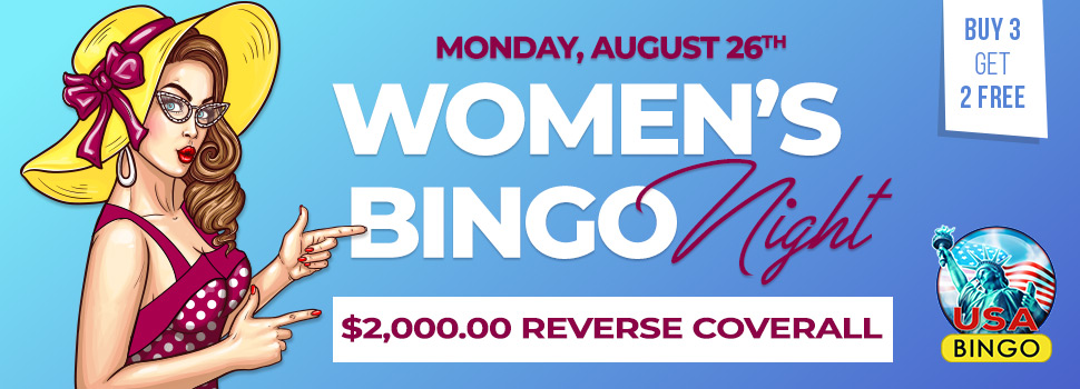 Women's Bingo Night