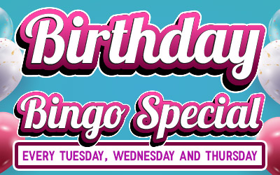 Birthday Bingo Special