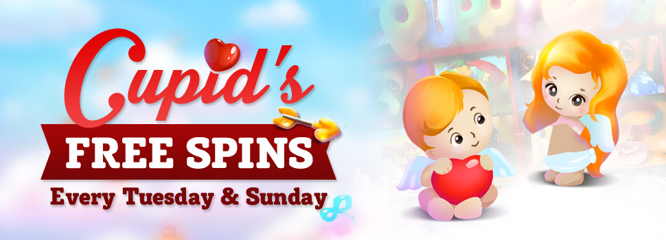 Cupid's Free Spins