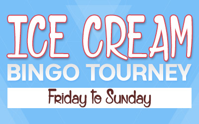 Ice Cream Bingo Tourney