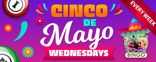 Cinco de Mayo Wednesdays